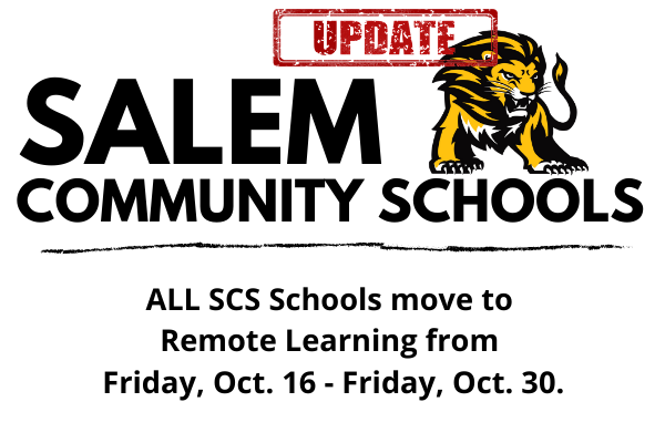 Remote Learning 10/16-10/30